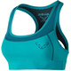 Dynafit React Sports Bra Women turquoise/teal